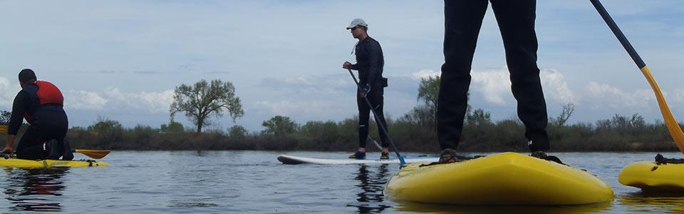Eskape Kayak SUP lessons
